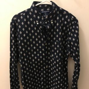 Old navy men's all over print button up